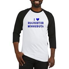 I Love Rochester Winter Baseball Jersey