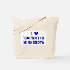 I Love Rochester Winter Tote Bag