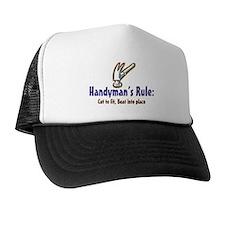 Handymans Rule Trucker Hat