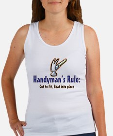 Handymans Rule Women's Tank Top