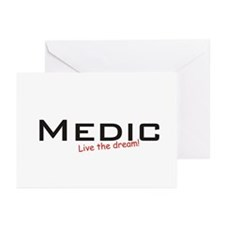 Medic / Dream! Greeting Cards (Pk of 20)