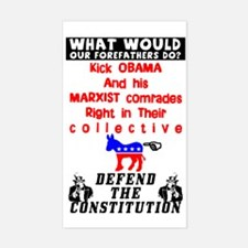 """""""Defend The Constitution"""" Decal"""