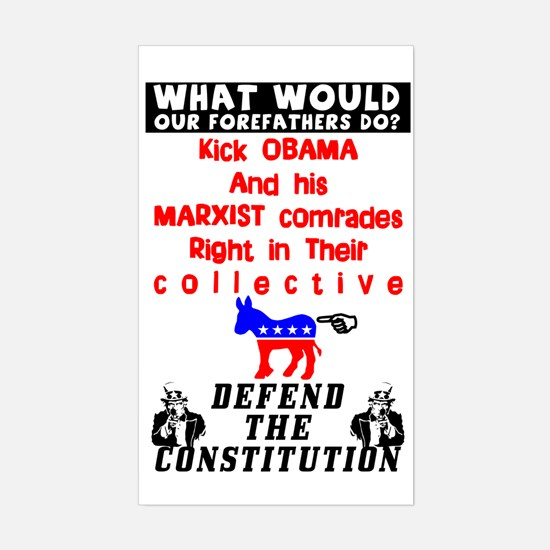 """Defend The Constitution"" Decal"