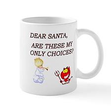 Unique Christmas eve baby Mug