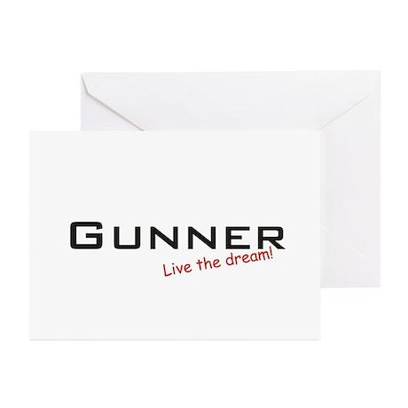 Gunner / Dream! Greeting Cards (Pk of 20)