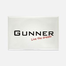 Gunner / Dream! Rectangle Magnet