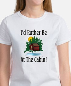 At The Cabin Tee