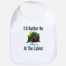 At The Cabin Bib