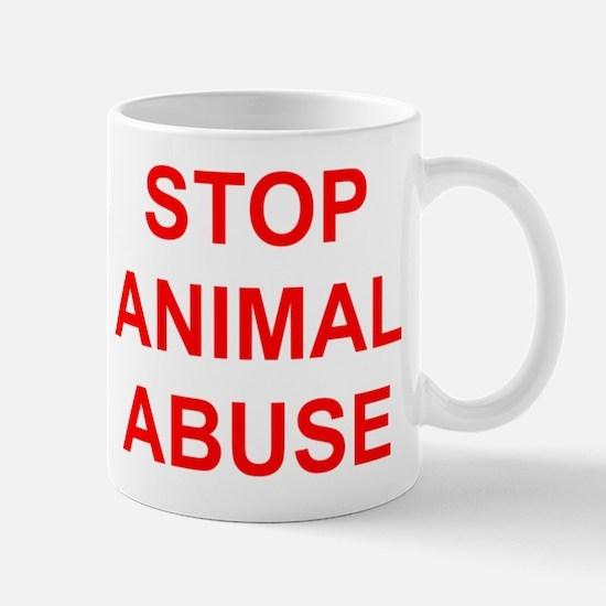 Unique Stop animal abuse Mug