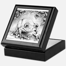 rain forest frog Keepsake Box