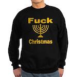 Fuck X-mas Sweatshirt (dark)