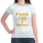 Fuck X-mas Jr. Ringer T-Shirt