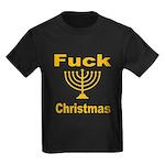 Fuck X-mas Kids Dark T-Shirt