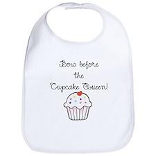 Cupcake Queen Bib