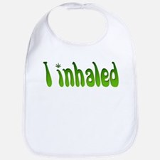 I inhaled Bib