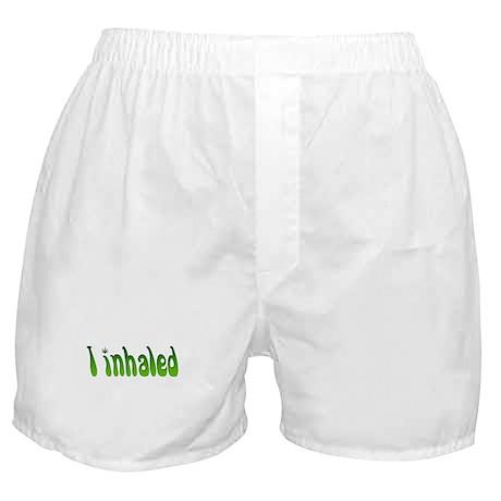I inhaled Boxer Shorts