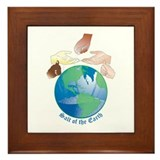 Salt of the earth Framed Tiles