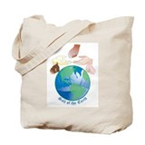 Salt of the earth Canvas Totes