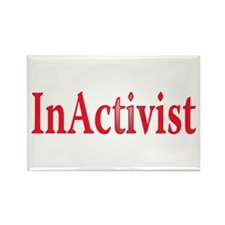inactivist Rectangle Magnet
