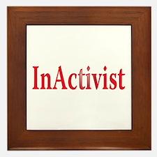 inactivist Framed Tile
