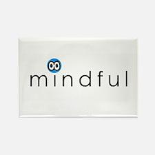 Funny Mindfulness Rectangle Magnet