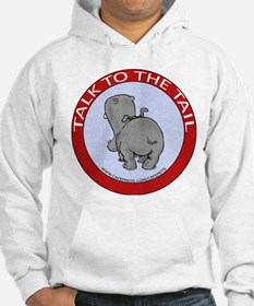 Hippo Talk To The Tail Hoodie