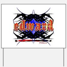 Edward Cullen Grunge Tattoo Yard Sign