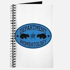 Department of Wombat-ology II Journal