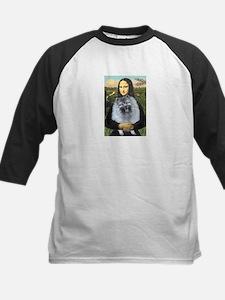 Mona Lisa / Keeshond (F) Tee