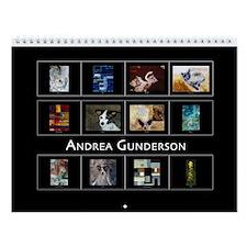 Andrea Gunderson Wall Calendar
