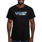 Wombat Carer Men's Fitted T-Shirt (dark)