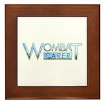 Wombat Carer Framed Tile