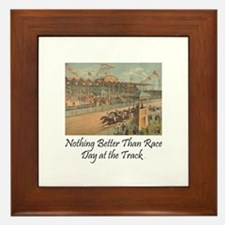TOP Horse Racing Framed Tile