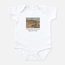 TOP Horse Racing Infant Bodysuit