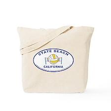 State Beach Tote Bag2
