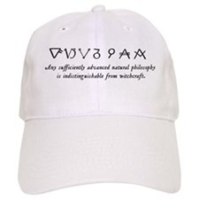 """Any Sufficiently Advanced..."" Baseball Cap"
