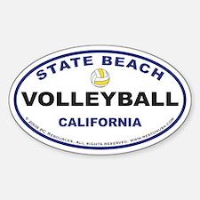 State Beach Sticker3 (Blue)