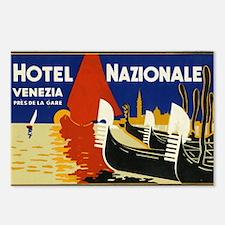 Vintage Luggage Labels Postcards (Package of 8)