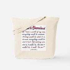 Alice in Obamaland Tote Bag