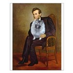 Lincoln / Keeshond (F) Small Poster