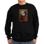 Lincoln / Keeshond (F) Sweatshirt (dark)