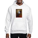 Lincoln / Keeshond (F) Hooded Sweatshirt