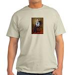 Lincoln / Keeshond (F) Light T-Shirt