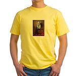 Lincoln / Keeshond (F) Yellow T-Shirt
