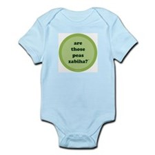 Zabiha Peas Infant Creeper (light green)