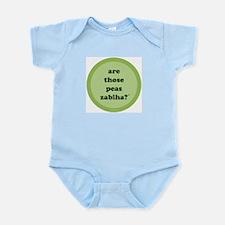 Zabiha Peas Infant Creeper (light green)