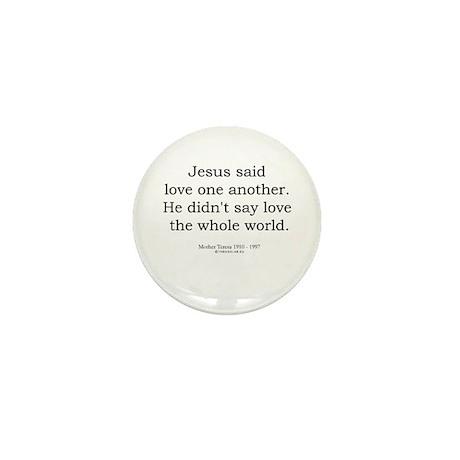 Mother Teresa 6 Mini Button
