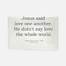 Mother Teresa 6 Rectangle Magnet