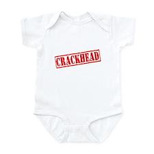 Crackhead Infant Bodysuit