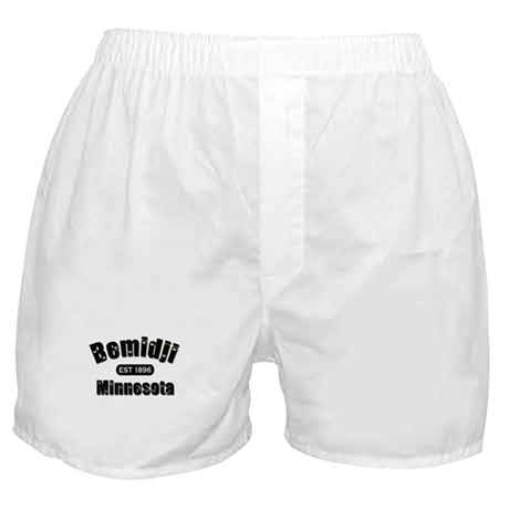 Bemidji Established 1896 Boxer Shorts